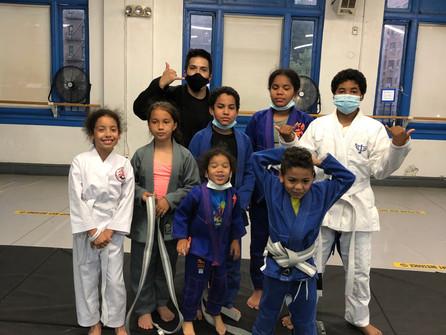 Brazilian Jiu Jitsu of Washington Heights Club.