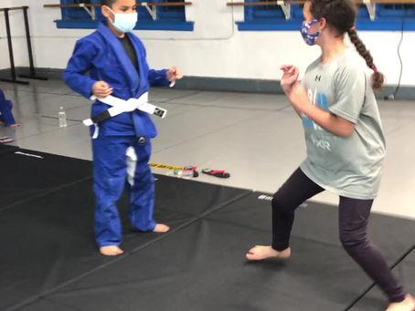 Great kids doing Brazilian Jiu Jitsu.