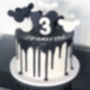 Mickey Drip Cake