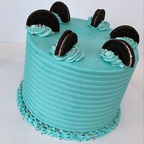 Blue Oreo Cake