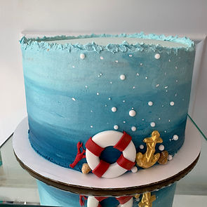 Nautical Sea Cake