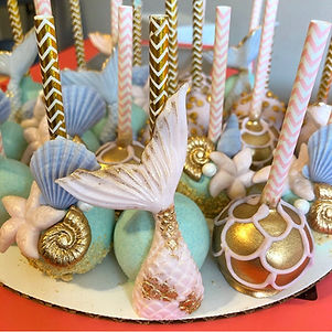 Mermaid Cake Pops