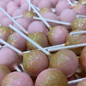 Pink/gold glitter