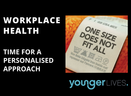 Workplace Health: It's time for a cost effective and personalised approach