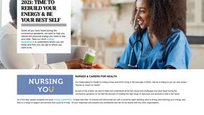 'Work Life & Me' selected to help nurses in 2021