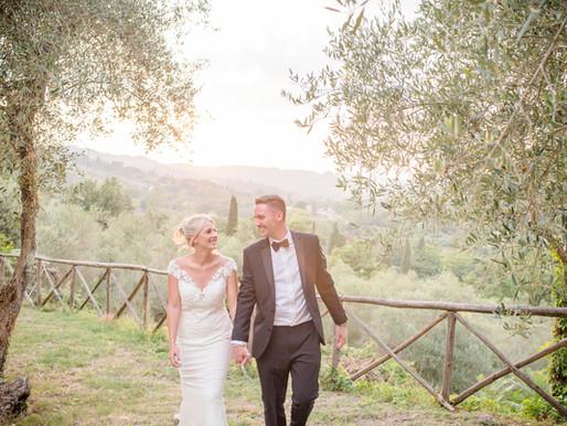Elegant destination wedding in a 6th-Century Italian Abbey