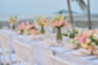 Reception set up on beach.JPG