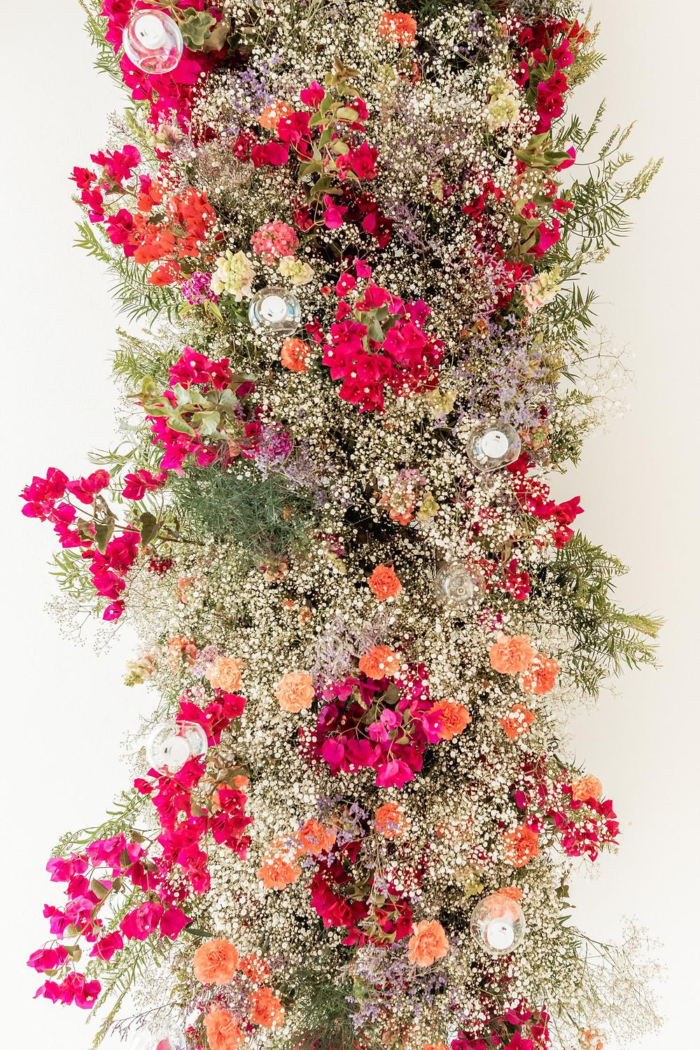 Hanging flowers!