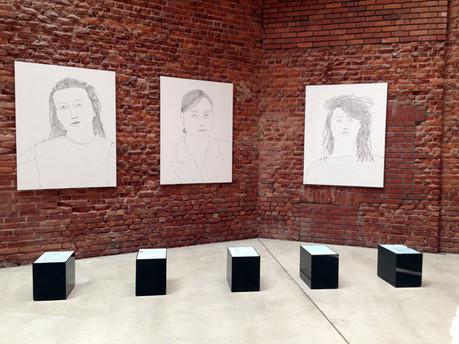 Ausstellungsansicht Confessions of Annegret M.