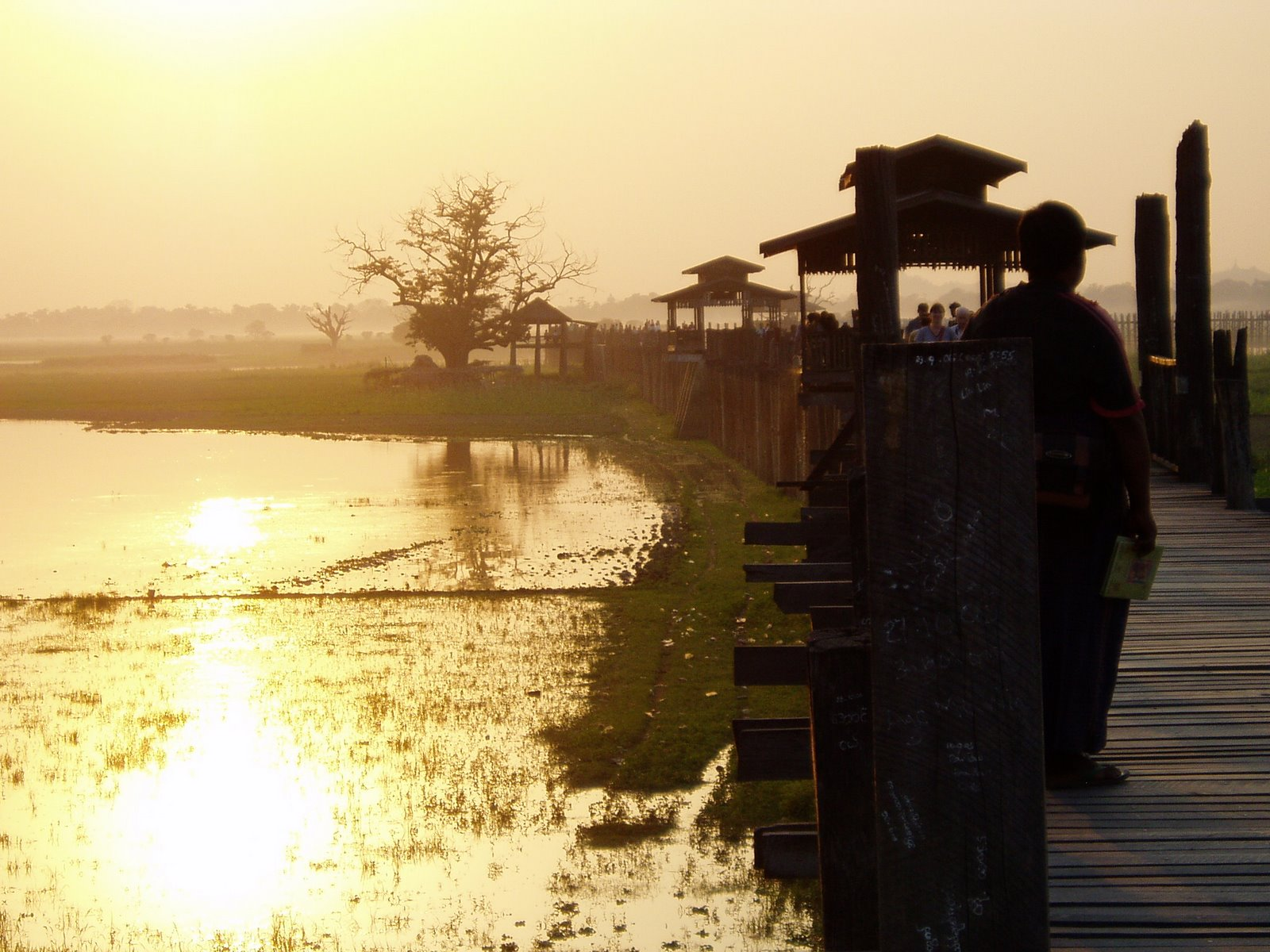 U Bein Bridge/ Myanmar