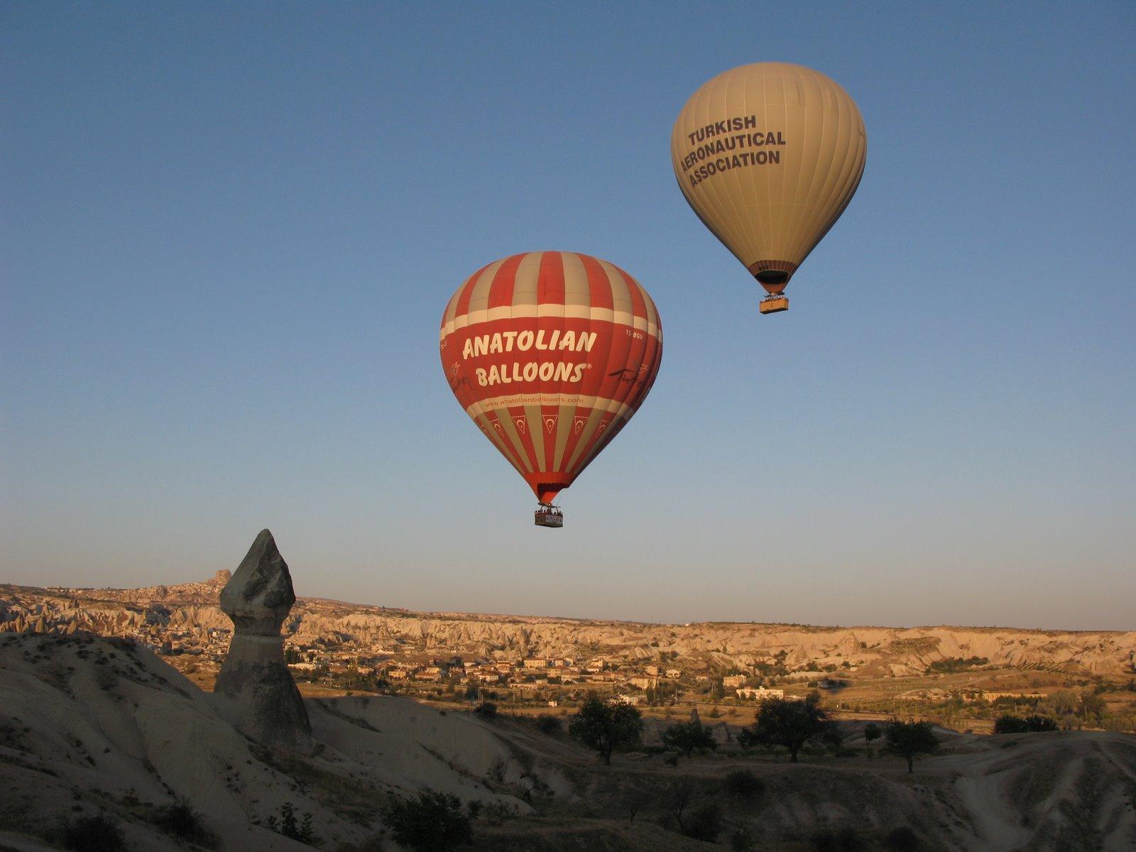 Ballonflug über Feentürmen