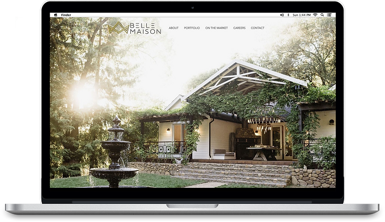 Belle-Maison_laptop with homepage.png