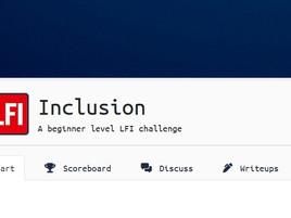 TryHackMe: LFI Inclusion Walkthrough