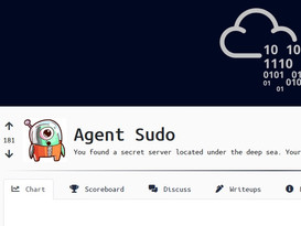 TryHackMe: Agent Sudo CTF Walkthrough