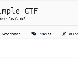 TryHackMe: Simple CTF Walkthrough