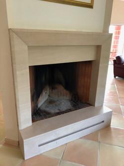Encadrement de cheminée
