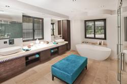 Salle de bain château de Fiac