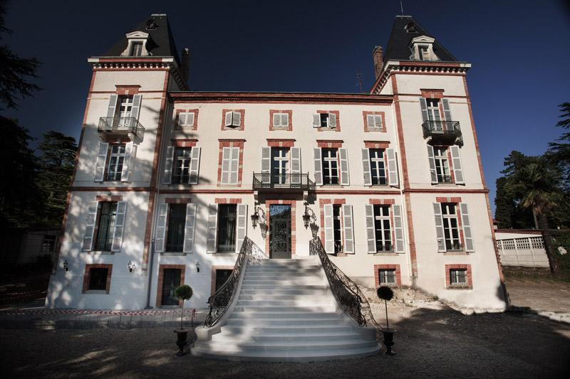 Escalier château de Fiac