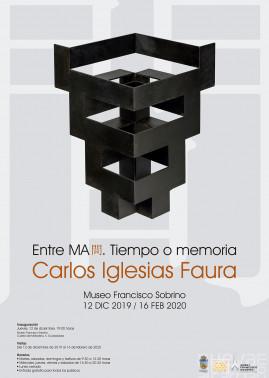 CARLOS I. FAURA en el MUSEO FRANCISCO SOBRINO DE GUADALAJARA