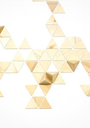 Simplex, 2019, madera laminada, medidas