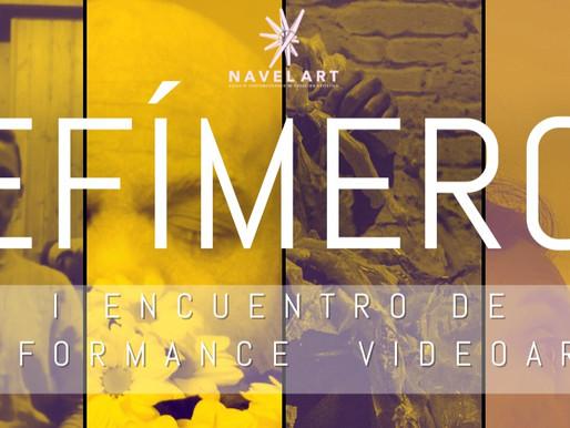 ¡Triunfo de EfímerO - EVENTO DE PERFORMANCE Y VIDEOARTE!