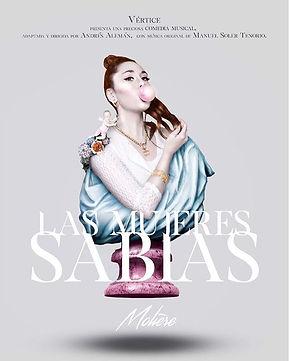 Cartel oficial de LAS MUJERES SABIAS _ve