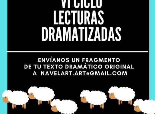 VI CICLO DE LECTURAS DRAMATIZADAS