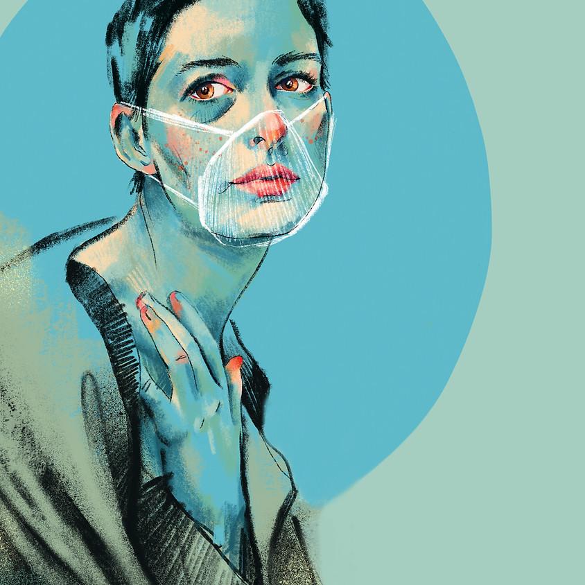 """EXPOSICIÓN: """"Serie Pandemia. El honor de recordarse miserablemente viva"""" de Elisa Forcano."""