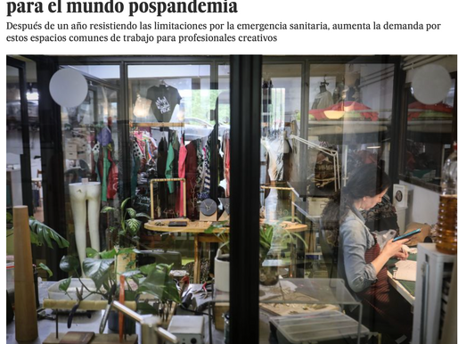 ¡Esta semana NAVEL ART en el periódico EL PAIS!
