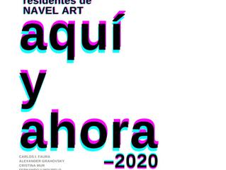"""""""AQUÍ Y AHORA"""" en Navel Art - espacio contemporáneo de producción artística. Madrid"""