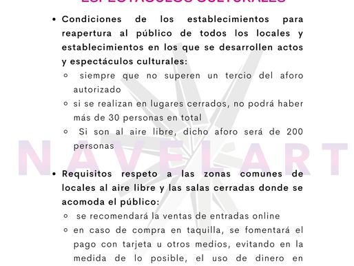 FASE 1: ACTOS PÚBLICOS Y ESPECTÁCULOS CULTURALES
