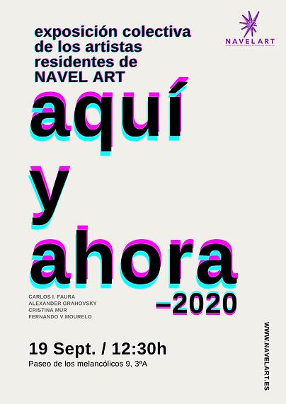 EXPOSICIÓN COLECTIVA EN NAVEL ART