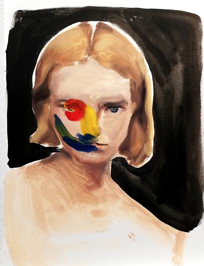paula Sanchez - fango - navel art