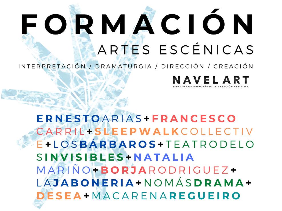 Formación de navel art Madrid