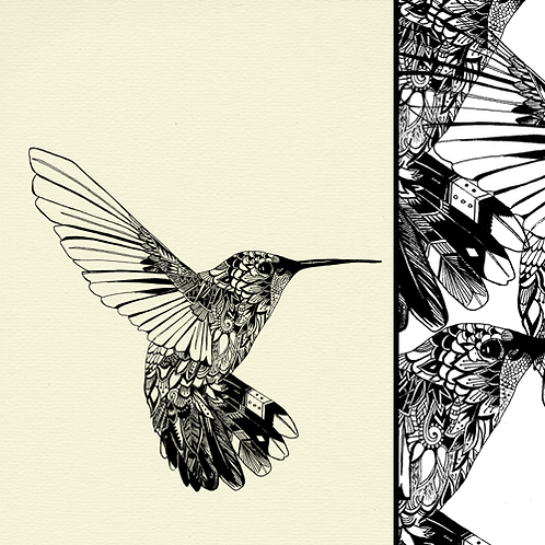 Happiness - Hummingbird