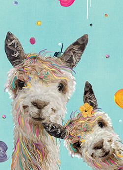 Cheeky Llama Sisters