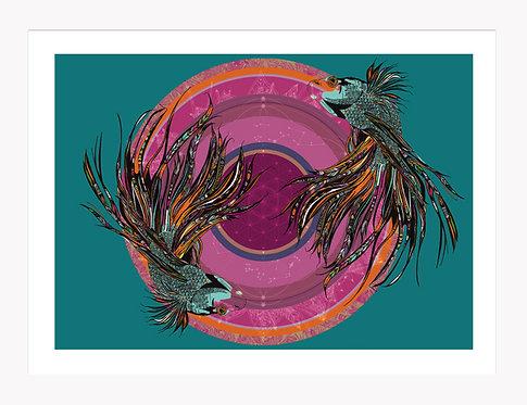 Prosperity - Fish Mandala