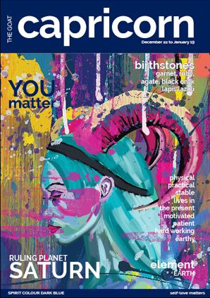 Capricorn- You Matter - Inspiring Wall Art