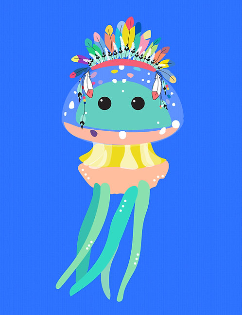 Jo the Jellyfish