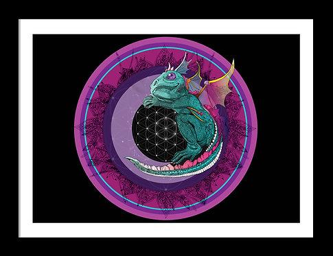 Mystical Dragon Mandala