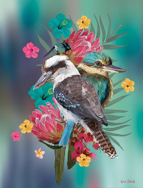 Kookaburra and Kingfisher