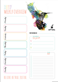 Weekly Overview Print Out