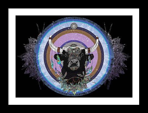Sacred Bull Mandala
