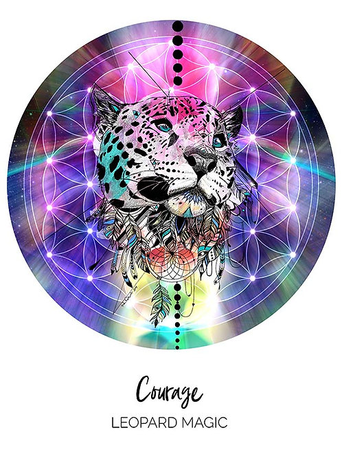 Courage - Leopard Magic