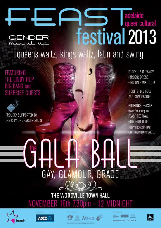 Gala Ball Poster Design