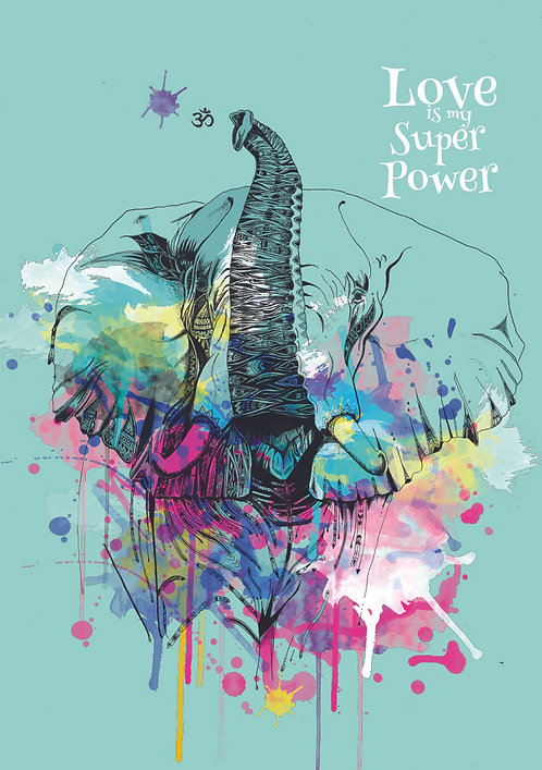 A Mind Full of Magic - LOVE is my Super Power Poster