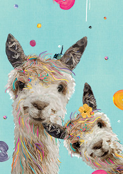 Ruby & Nina - Alpaca/Llama Print