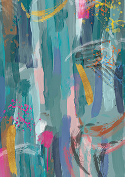 Karin Roberts -Devonstone Fabric Collection - Abstract 01