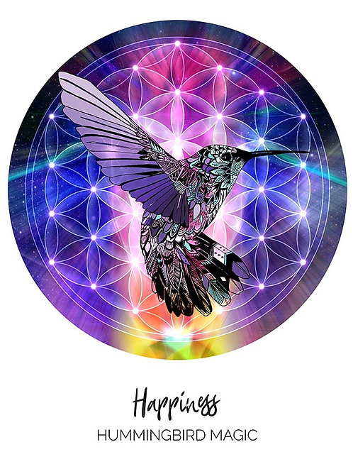 Happiness - Hummingbird Magic