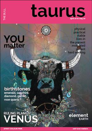 Taurus - You Matter - Inspirational Wall Art